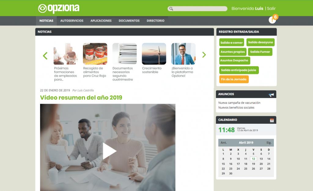 portal empleado noticias y comunicados