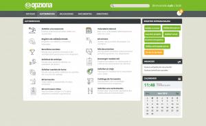 Autoservicios portal del empleado