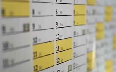 El calendario laboral en RRHH ¿Cómo definirlo de manera óptima?