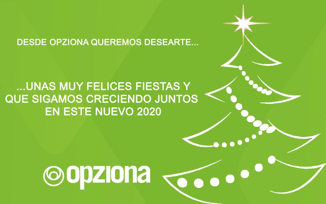 ¡Feliz Navidad y Próspero 2020!